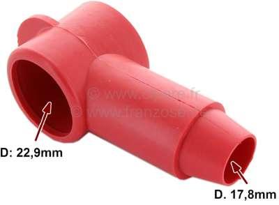 Citroen-2CV Gummikappe für den Anschluß an den Anlasser. (Schutzkappe). Diese Kappe sollte nie fehlen.