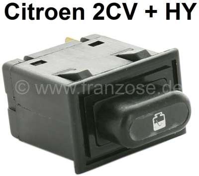 Citroen-DS-11CV-HY Bremsflüssigkeits - Kontrollschalter, für 2CV + HY. Original verbaut im Armaturenbrett. Le