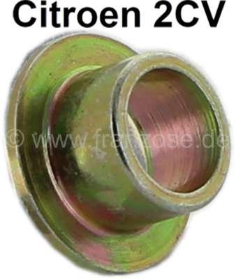 Citroen-2CV 2CV6, Endrohr, Metallhülse für die Gummistreifen, womit die Auspuffrohre befestigt sind. (