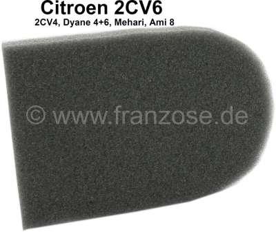 Citroen-2CV 2CV6, Wärmetauscher (Heizbirne), Schaumstoffplatte für die Klappe des Wärmetauschers. Per