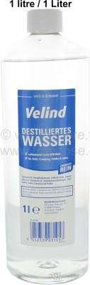 Citroen-DS-11CV-HY Destilliertes Wasser, 1 Liter