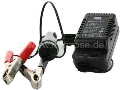 Citroen-DS-11CV-HY Batterie - Erhaltungslader, 6 + 12Volt / 300mA. Zum Überwintern der Batterie. Kontrolliert