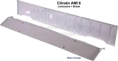 Citroen-2CV AMI6, Pedalbodenblech. Passend für Citroen AMI6 Limousine + AMI6 Break. Sehr guter Nachbau