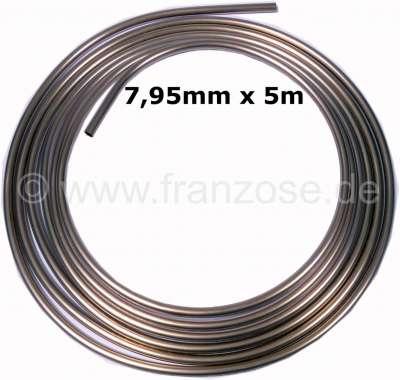 Citroen-2CV Brems + Hydraulikleitung. Durchmesser: 7,95mm (5/16 Zoll). Länge: 5 Meter. Material: Kunif