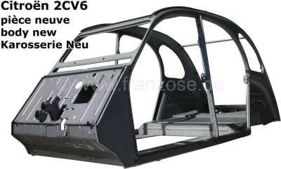 Citroen-2CV 2CV, Karosserie Neu! Passend für Citroen 2CV6. Nur Abholung, kein Versand! Die Karosserie