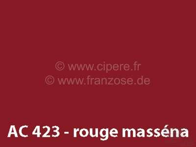 Citroen-DS-11CV-HY Sprühlack 400ml / AC 423 Rouge Masséna von 2/70 - 9/72 Bitte innerhalb 6 Monate aufbrauche