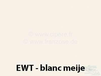 Citroen-DS-11CV-HY Sprühlack 400ml / EWT / GWB / AC 088 Blanc Meije / von 9/82 - Ende /9/71-9/7 Bitte innerha