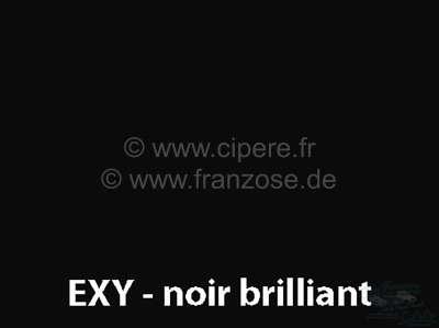 Citroen-DS-11CV-HY Sprühlack 400ml / EXY / AC 200 Noir Brillant von 9/80 - Ende Bitte innerhalb 6 Monate aufb