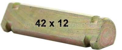 Citroen-2CV Kantbolzen klein, verzinkt. Passend für Citroen 2CV vorne. (Befestigung der Federtopf Zugs