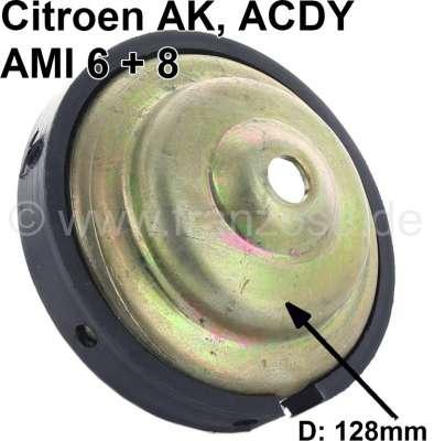 Citroen-2CV Reibscheibe (Teller) für den großen Federtopf.  Ca. 128mm Durchmesser. Passend für Citroen