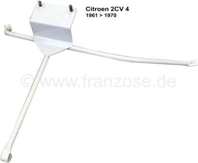 Citroen-2CV Reserveradhalter aus Metall. Passend für Citroen 2CV4 (425cc), von Baujahr 1961 bis 1970.