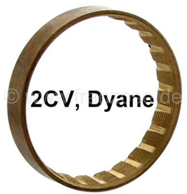 Citroen-2CV Synchronring im Getriebe, Material: Bronze. Passend für Citroen 2CV. Außenmaß: 44,6mm. Dic