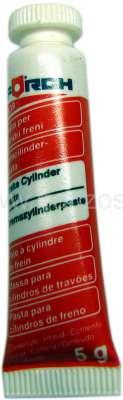 Renault Bremszylinderpaste. Hersteller: FÖRCH. 5g vollsynthetische Bremszylinderpaste für hydrauli