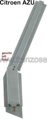 Citroen-2CV AZU, Hinterachsanschlag Reparaturblech links, für Citroen AZU.