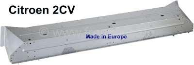 Citroen-2CV 2CV, Sitzbankkasten komplett für Citroen 2CV. Das ist ein sehr guter Nachbau und besser in