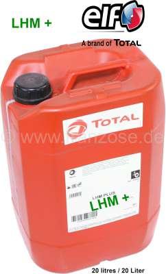 Citroen-DS-11CV-HY LHM+ grün, Hydraulikflüssigkeit. 20 Liter Kanister. Original TOTAL. Passend für Citroen 2C