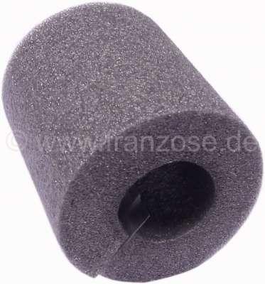 Citroen-2CV Kabelbaum Abdichtung für die Motor Stirnwand. Material: Schaumgummi. Durchmesser: ca. 35mm
