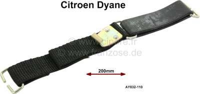 Citroen-2CV Dyane, Spannband für den Zwischenboden (Reserverad Abdeckung) im Kofferraum (deutsche Fahr