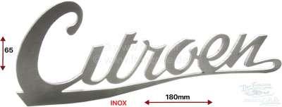 Citroen-DS-11CV-HY 2CV, Kofferraumklappe. Emblem