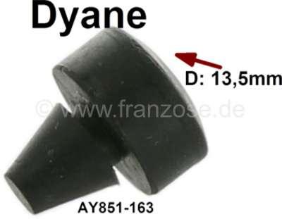 Citroen-2CV Dyane, Gummipuffer Auflage Motorhaube auf Kotflügel. Passend für Citroen Dyane. Durchmesse