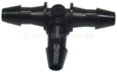 Citroen-2CV T-Verbinder Benzinleitung, 3mm, auch für die Scheibenwaschanlage verwendbar.