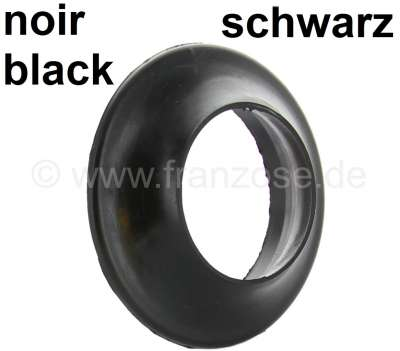 Citroen-2CV Tankeinfüllstutzen Gummidichtung. Alte Version. Farbe: schwarz. Citroen 2CV bis ca. Baujah