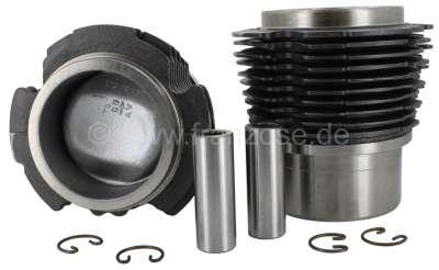 Citroen-2CV Kolben + Zylinder (2 Stück) für 2CV4, 435ccm, incl. Kolbenringe + Kolbenbolzen. Bohrung: 6