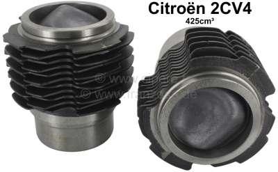 Citroen-2CV Kolben + Zylinder (2 Stück) für Citroen 2CV4, (425ccm). Citroen AZL, AZU, Dyane (425ccm).
