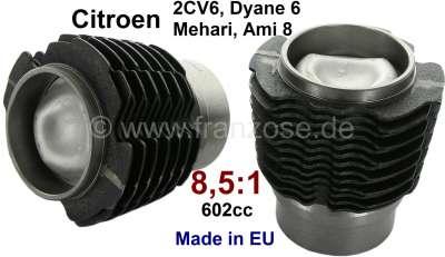 Citroen-2CV Kolben + Zylinder (2 Stück). Passend für Citroen 2CV6/Club, Charleston, Special. Dyane 6,