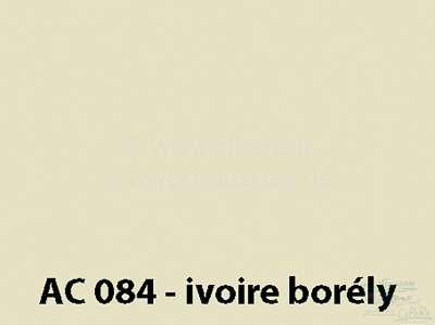 Citroen-DS-11CV-HY Lack 1000ml / AC 084 / 9/72-9/74 Ivoire Borély, bitte mit dem Härter 20444 mischen,  2 Tei