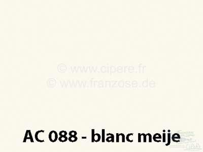 Citroen-DS-11CV-HY Lack 1000ml /EWT/GWB/088/ 9/82> Blanc Meije /9/71-9/72, bitte mit dem Härter 20444 mischen