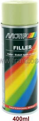 Citroen-2CV Füller in der Spraydose. 400ml. Passend zu unseren Lacken.