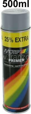Citroen-2CV Grundierung Spraydose 500ml. Farbe grau, passend zu unseren Sprühlacken, für helle Endlack