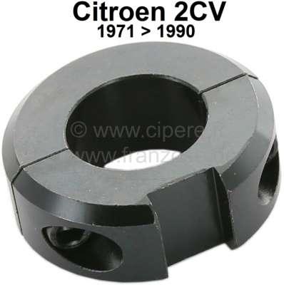 Citroen-2CV Zündschloss Verriegelungsring (montiert auf der Lenksäule). Passend für Citroen 2CV, ab Ba