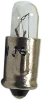 Citroen-2CV Glühlampe 12 Volt, 2 Watt. Sockel BA7 s. Original Kontrollleuchten 2CV,HY usw