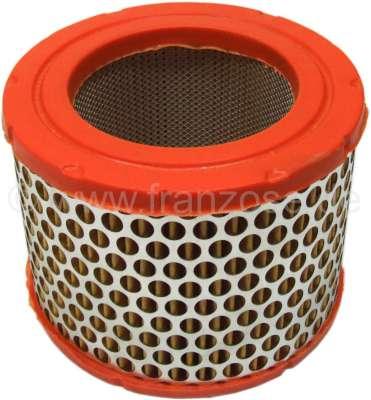Citroen-2CV Luftfiltereinsatz passend für Citroen AMI6, AMI8, Mehari + Citroen HY Diesel. Aussendurchm