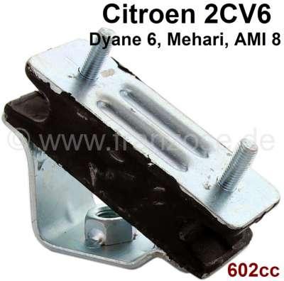 Citroen-2CV Motorhalterung vorne, per Stück. Passend für Citroen 2CV6, Ami8, Dyane, Mehari. Markenhers