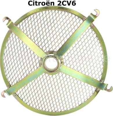 Citroen-2CV Gitter für das Motorlüftergehäuse (602cc). Passend für Citroen 2CV6. Nachbau. Das Gitter i