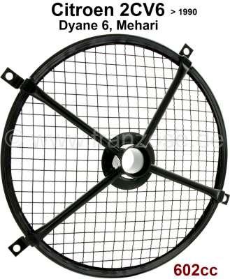 Citroen-2CV Gitter für das Motorlüftergehäuse (602cc). Passend für Citroen 2CV6, Dyane 6, Mehari. Sehr