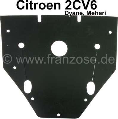Citroen-2CV Gummi groß im Motorlüftergehäuse, montiert vor der Zündung. Passend für Citroen 2CV.