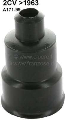 Citroen-2CV Öleinfüllstutzen Gummikappe, passend für Citroen 2CV (12PS), bis Baujahr 1963. Or.Nr.: A17