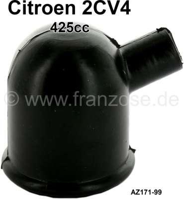 Citroen-2CV Öleinfüllstutzen Gummikappe, passend für Citroen 2CV von Baujahr 03/1963 bis 1970. Nachbau