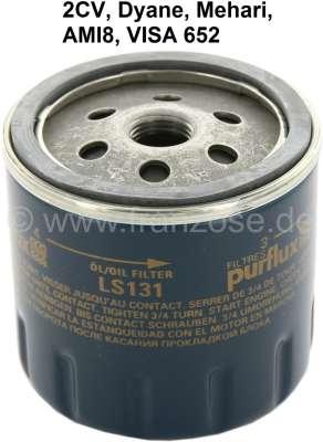 Citroen-2CV Ölfilter für Citroen 2CV. Original Lieferant (GL231/LS131). (Kein Nachbau). Passend  für C