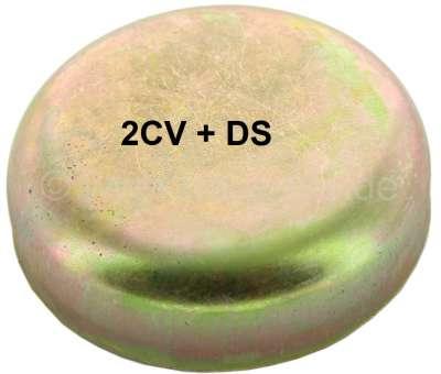 Citroen-2CV Fettkappe hinten, aus Blech. Passend für alle Citroen 2CV + Citroen DS. Abdeckung für das