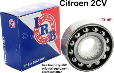 Citroen-2CV Radlager für Citroen 2CV. Original Hersteller