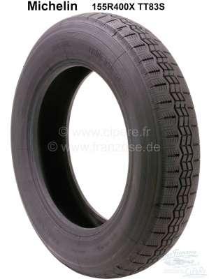 Citroen-2CV Reifen 155R400X TT83S (X - Profil). Hersteller Michelin. Passend für Citroen 2CV Sahara. C