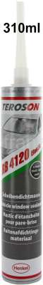 Citroen-DS-11CV-HY Scheibendichtmasse dauerelastisch. Original Teroson! Kartusche 310ml. Anwendung : Ideal zu