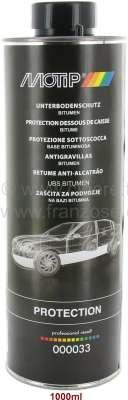 Peugeot Unterbodenschutz + Steinschlagschutz zum spritzen. Für Unterbodenschutzpistole. 1000ml