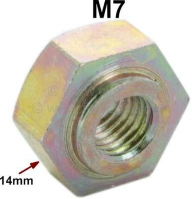 Citroen-2CV M7 Schweißmutter (Punktschweißmutter), wie Original! Passend für Citroen 2CV, DS, HY