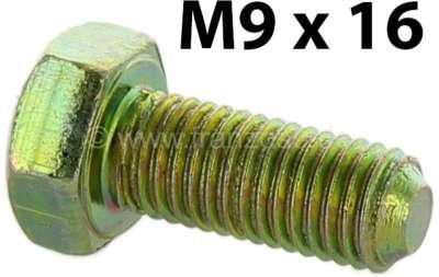 Citroen-2CV M9x20, Schraube für die Befestigung der seitlichen Abdeckplatten an der Vorderachse. Passe